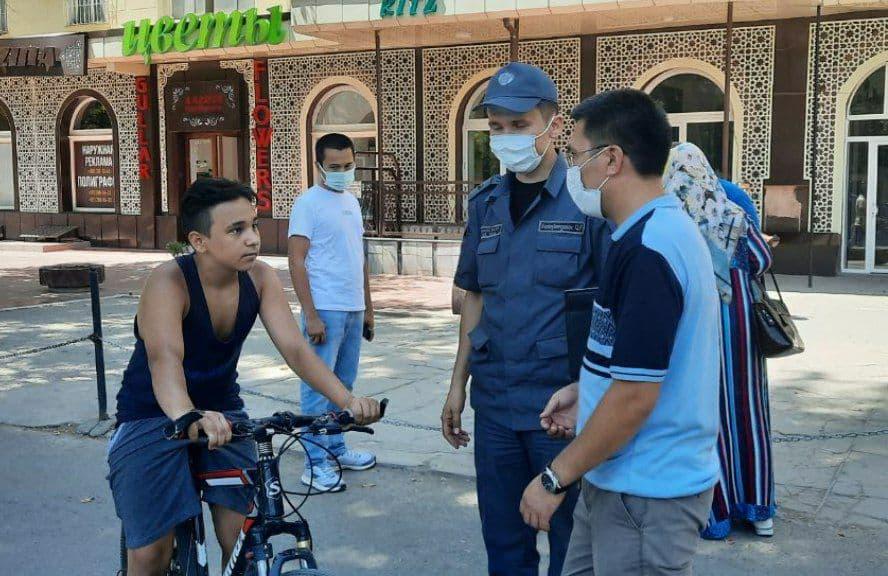 В Ташкенте оштрафовали свыше 50 тысяч человек за переход в неположенном месте