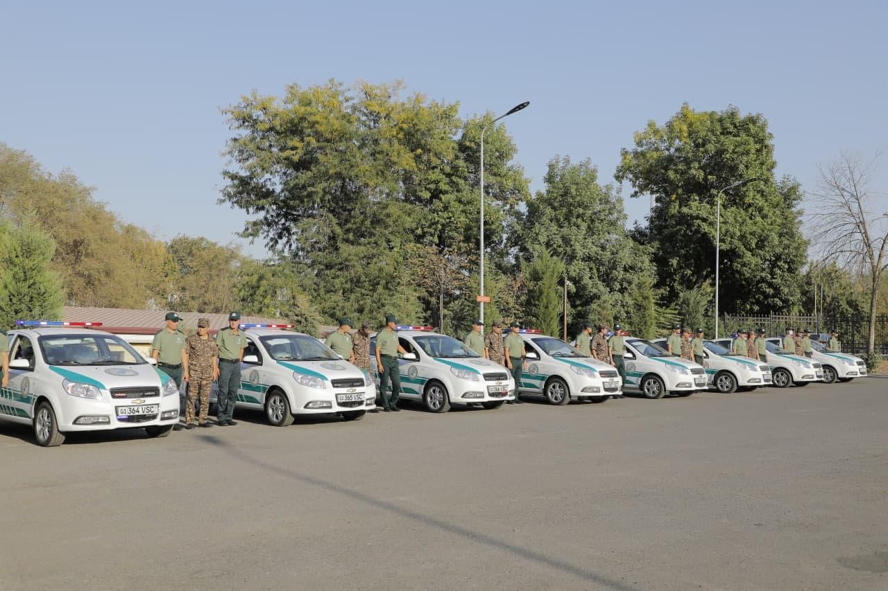 В Узбекистане презентовали служебные автомобили экополиции - фото