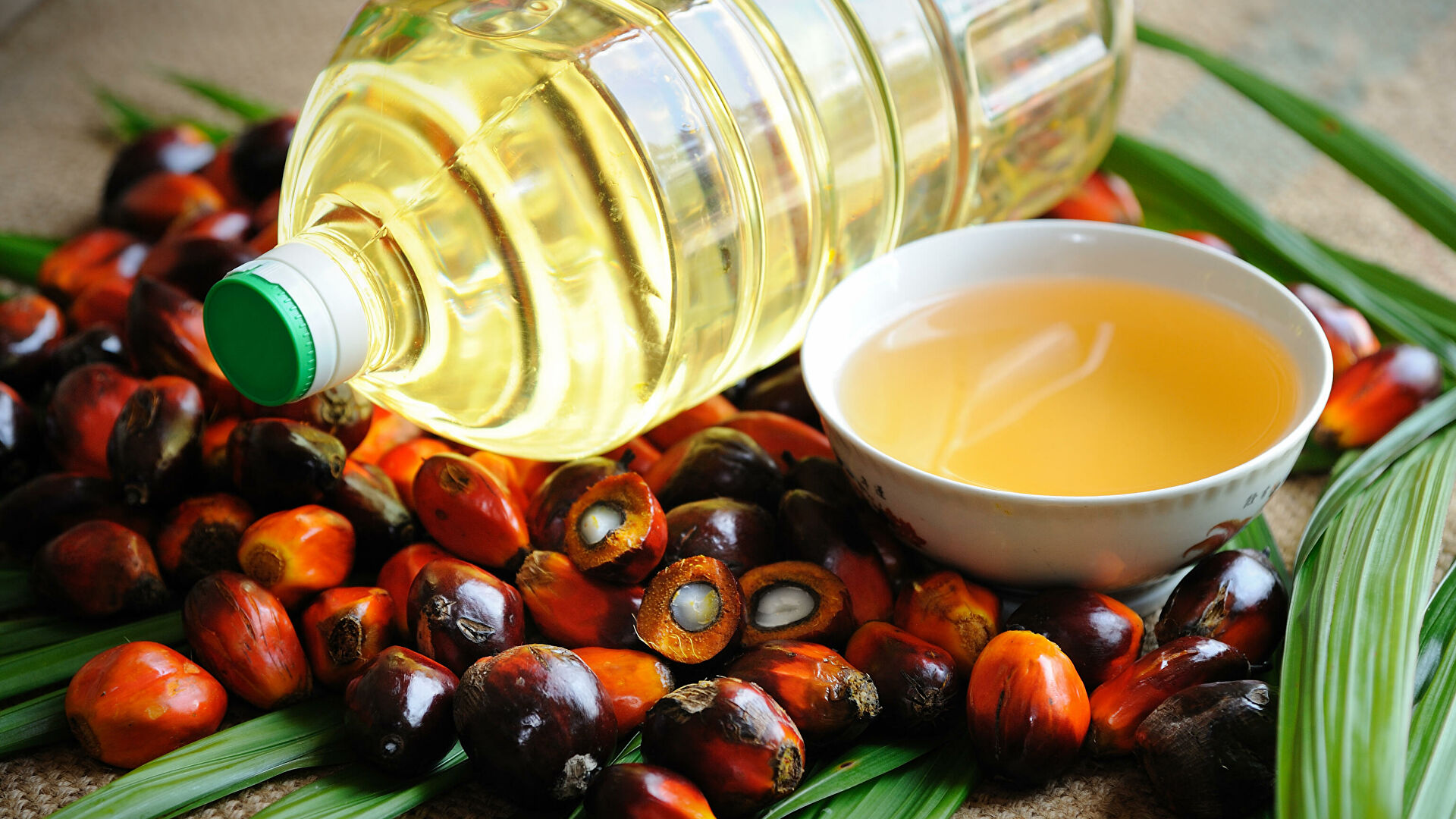 масло растительное пальмовое