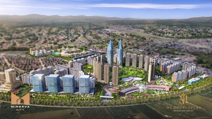 Minerva City: новый центр города и преимущества проживания в нем