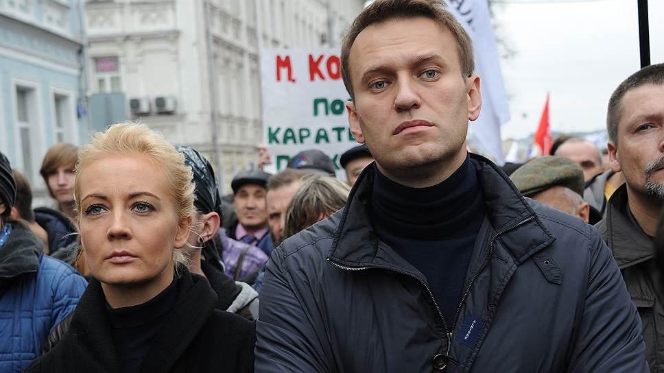 Жена Навального обратилась к Путину с «требованием» разрешить  транспортировку её мужа в Германию
