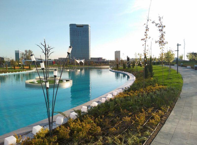 Стало известно, каким будет парк Tashkent City через пять лет